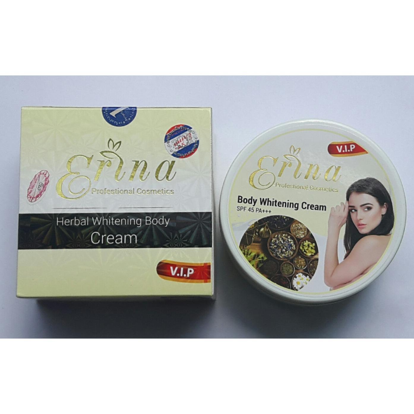 Mua Kem Dưỡng Trắng Thảo Dược Erina Herbal Whitening Body Cream Spf 45 Pa 250G Thai Lan Trong Việt Nam