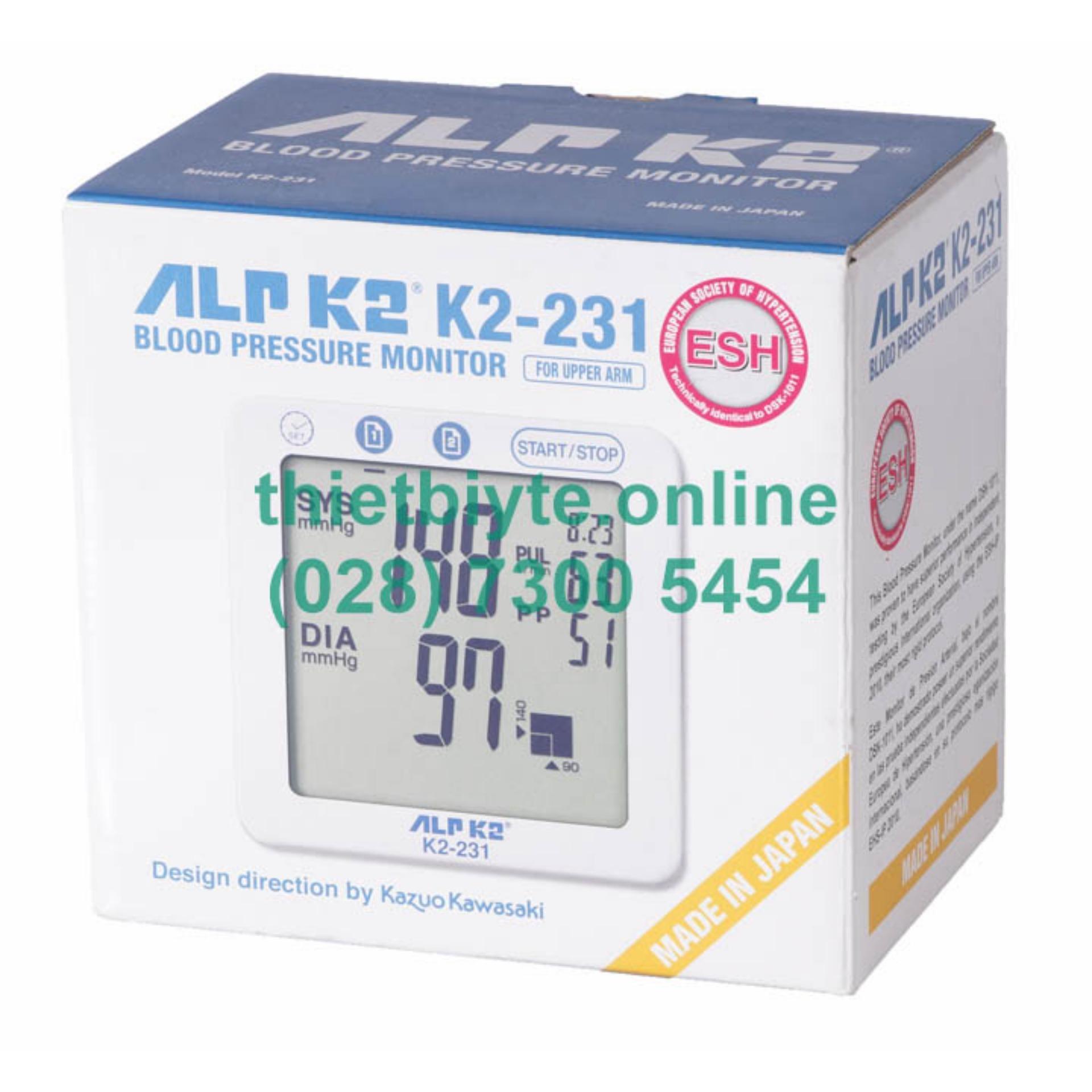 Máy đo huyết áp bắp tay Alpk2 K2-231 bán chạy