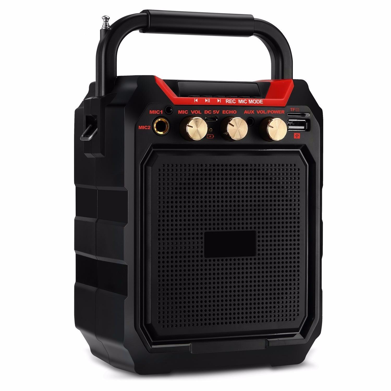 Loa karaoke mini bluetooth