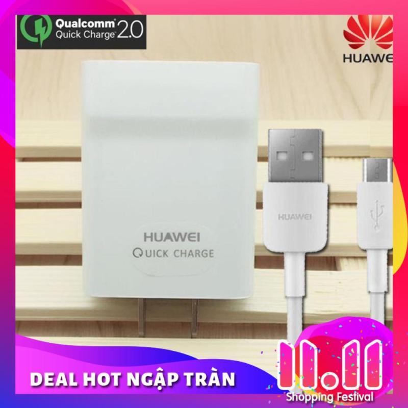 Giá Bộ sạc cực nhanh cho Huawei Nova 2i, 3i - Sạc Nhanh  2.0 Micro USB (p9)