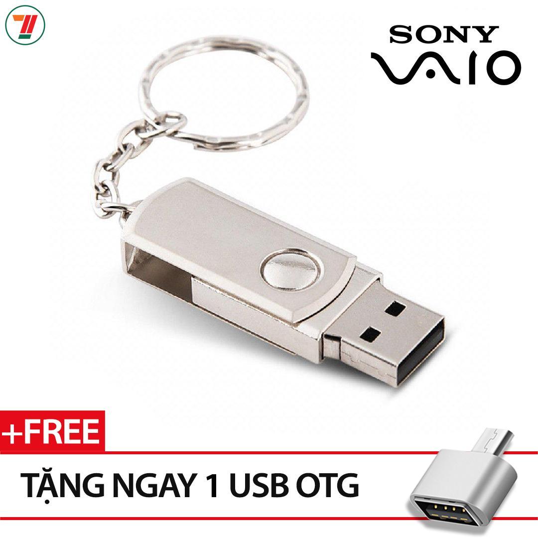 USB Sony 32gb có kèm móc khoá tặng otg