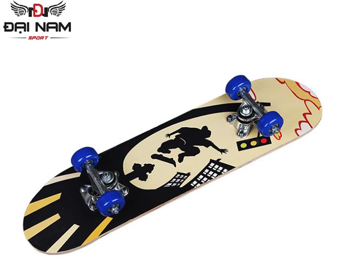 Giá bán Ván trượt trẻ em Skateboard mặt nhám cỡ nhỏ-Tiêu chuẩn thi đấu