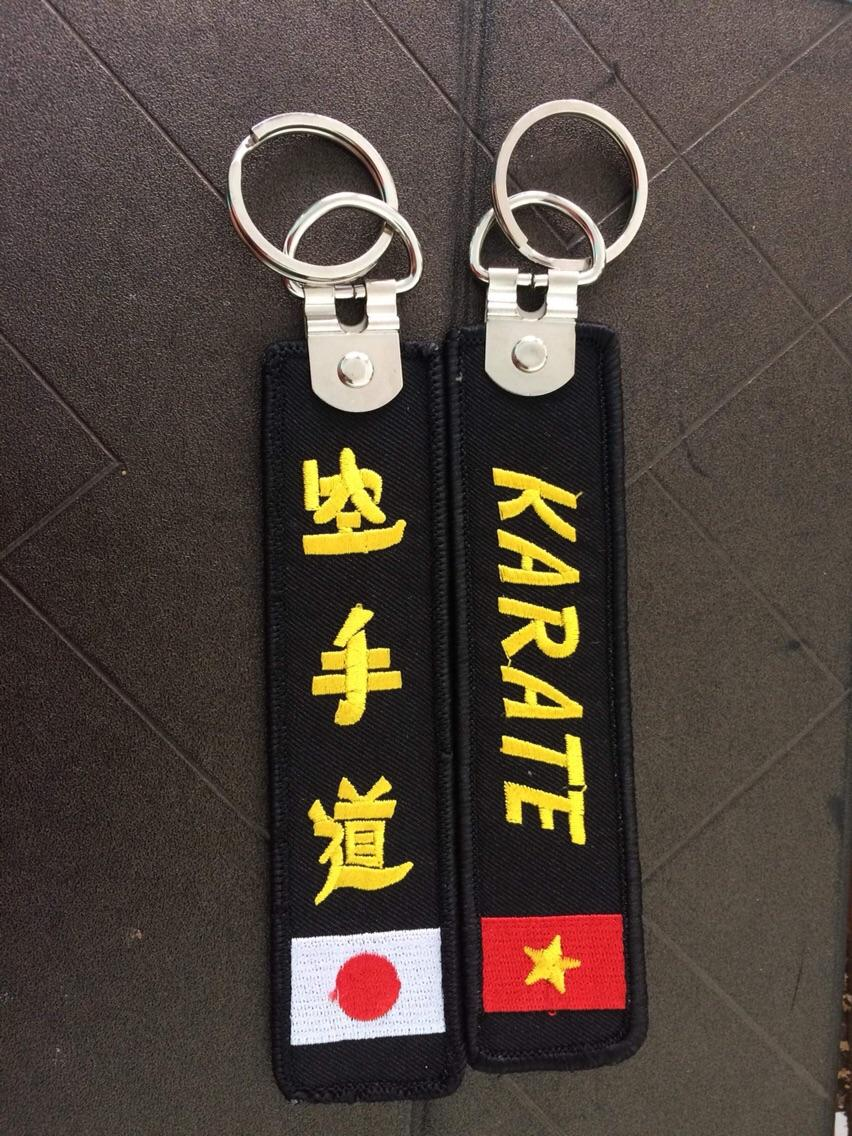 Móc Khoá Thêu Karatedo Siêu Khuyến Mại