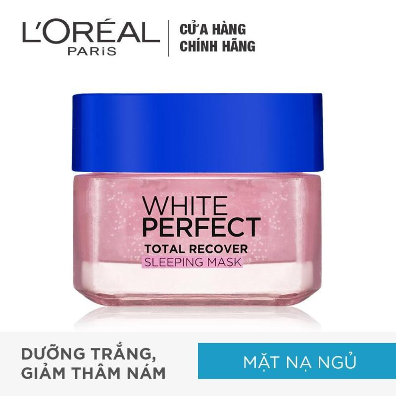 Mặt nạ ngủ dưỡng trắng và phục hồi da toàn diện Loreal Paris White Perfect 50ml nhập khẩu