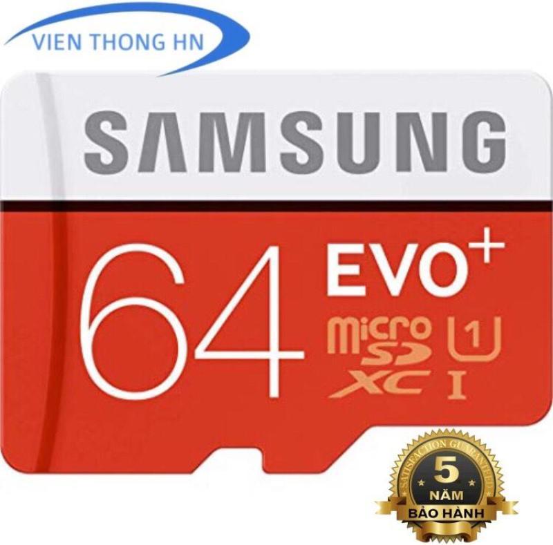 Thẻ nhớ MicroSDXC Samsung EVO Plus 64GB - KÈM ADAPTER