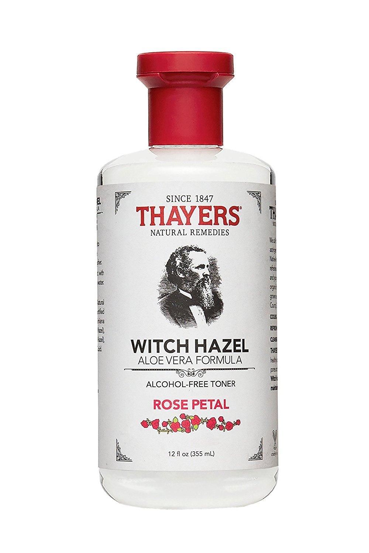 Nước hoa hồng không cồn THAYERS Alcohol-Free Rose Petal Witch Hazel Toner 355ml (Hương hoa hồng - Dành cho da khô, da thường)