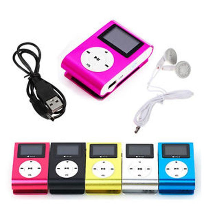 Hình ảnh Máy nghe nhạc MP3 màn hình LCD ( Có Sạc Và Tai Nghe )