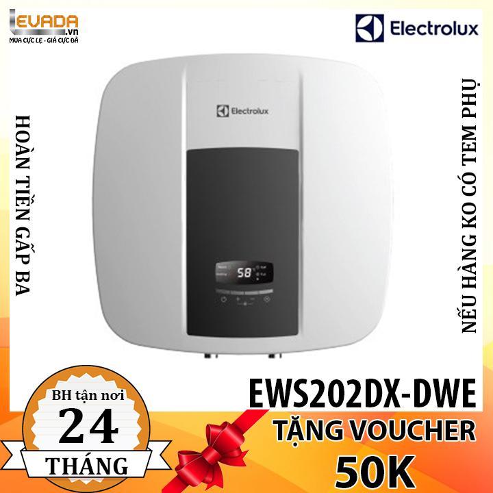 Bảng giá Máy Nước Nóng Gián Tiếp Electrolux EWS202DX-DWE 20 Lít 2500W - CHỈ BÁN HỒ CHÍ MINH