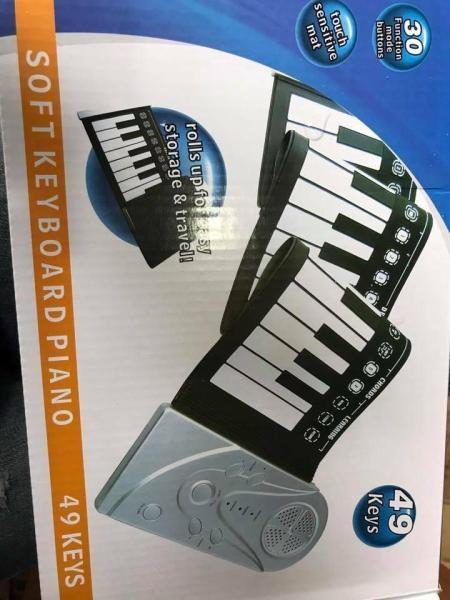 Đàn cuộn dẻo piano 49keyboard