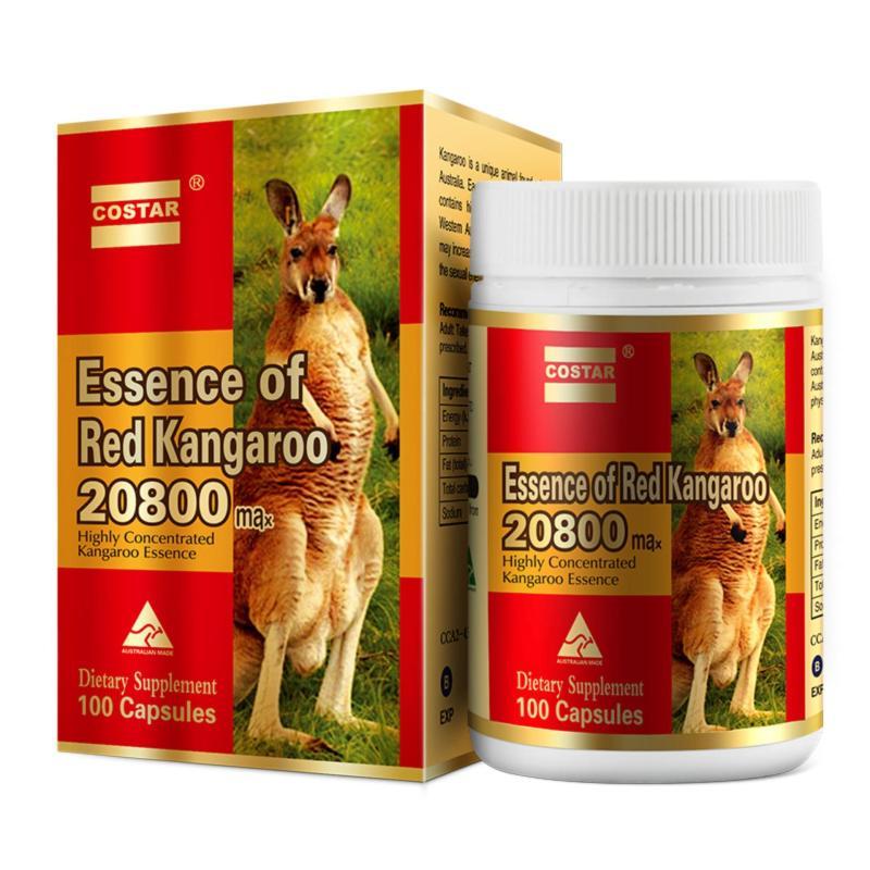 Viên Uống Tăng Cường Sinh Lý Essence Of Red Kangaroo 20800 Max Chính Hãng 100 Viên nhập khẩu