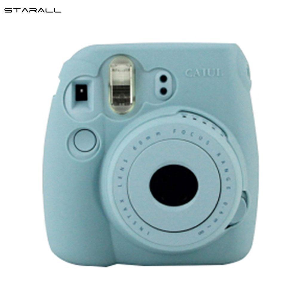 Mã Giảm Giá Khi Mua StarALL Instant Camera Protect Case Polaroid Silicone Cover For Fujifilm Instax Mini 8 9