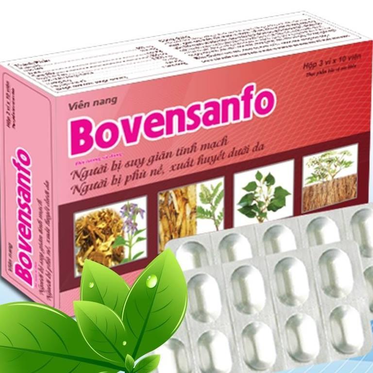 BovenSanfo - hỗ trợ điều trị suy giãn tĩnh mạch