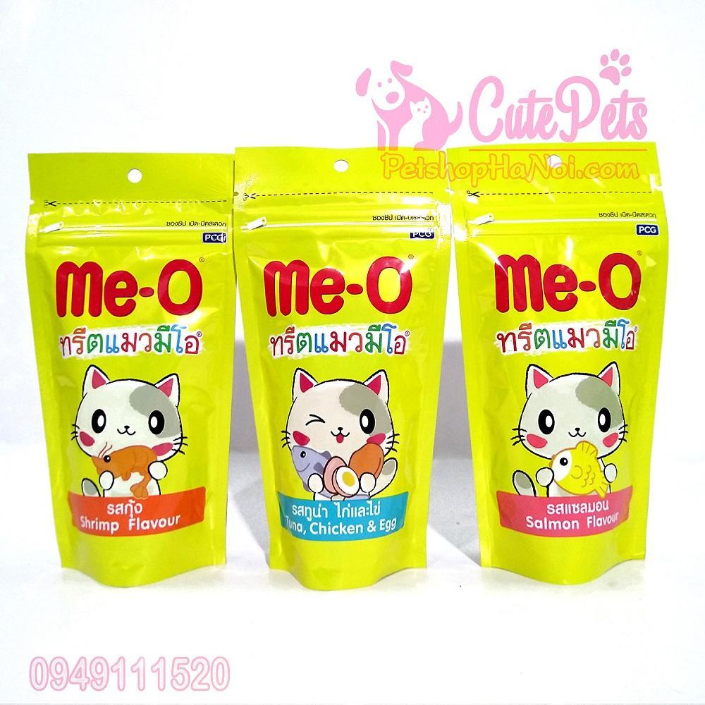 Mã Khuyến Mại Bánh Thưởng Cho Mèo Me-O Gói 50g