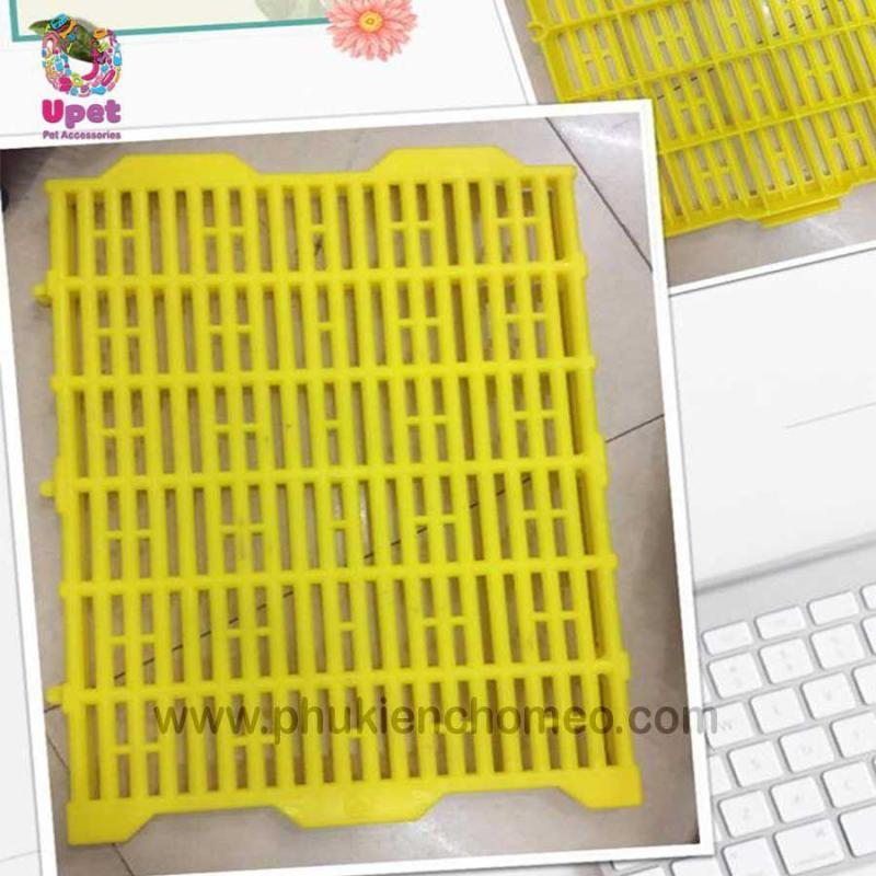 Sàn nhựa vàng lót chuồng Tấm lót sàn ( 4711435) tấm nhựa lót sàn chó mèo-HP11021TC