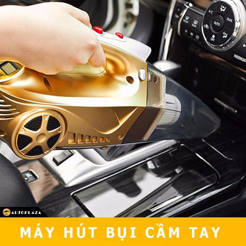 [XẢ KHO CUỐI NĂM]+[BẢO HÀNH 1 NĂM] Máy bơm lốp kiêm hút bụi 4 trong 1 cho ô tô xe hơi AutoPlaza