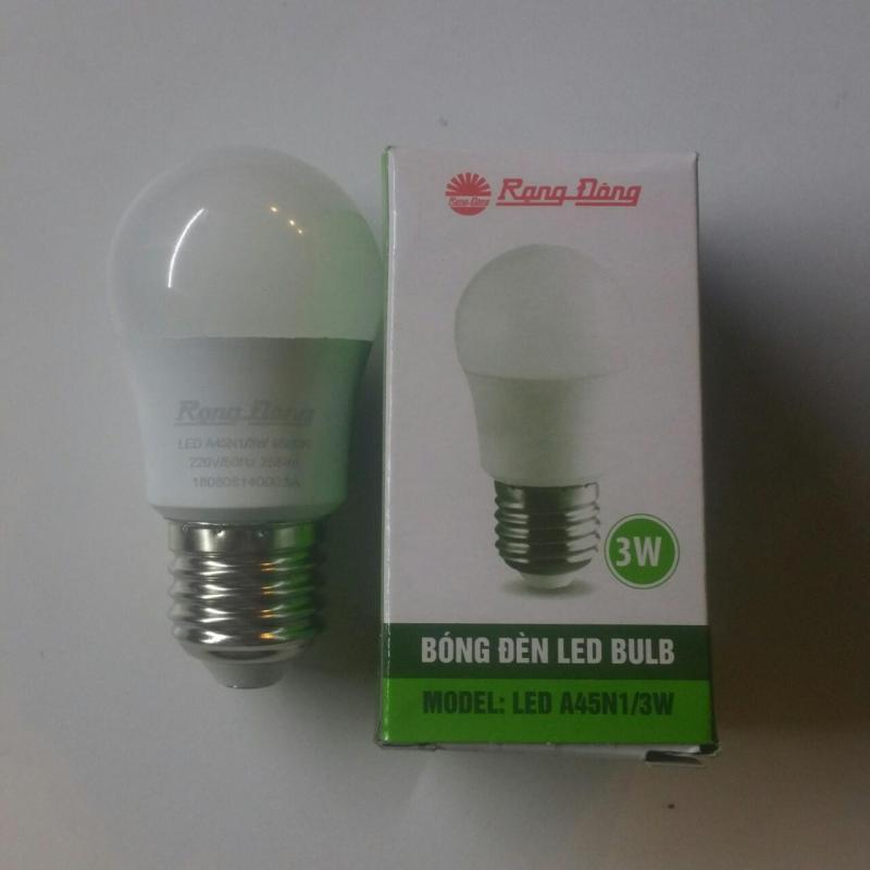 Bóng đèn led tròn 3W RẠNG ĐÔNG _ Model A45N1/3W