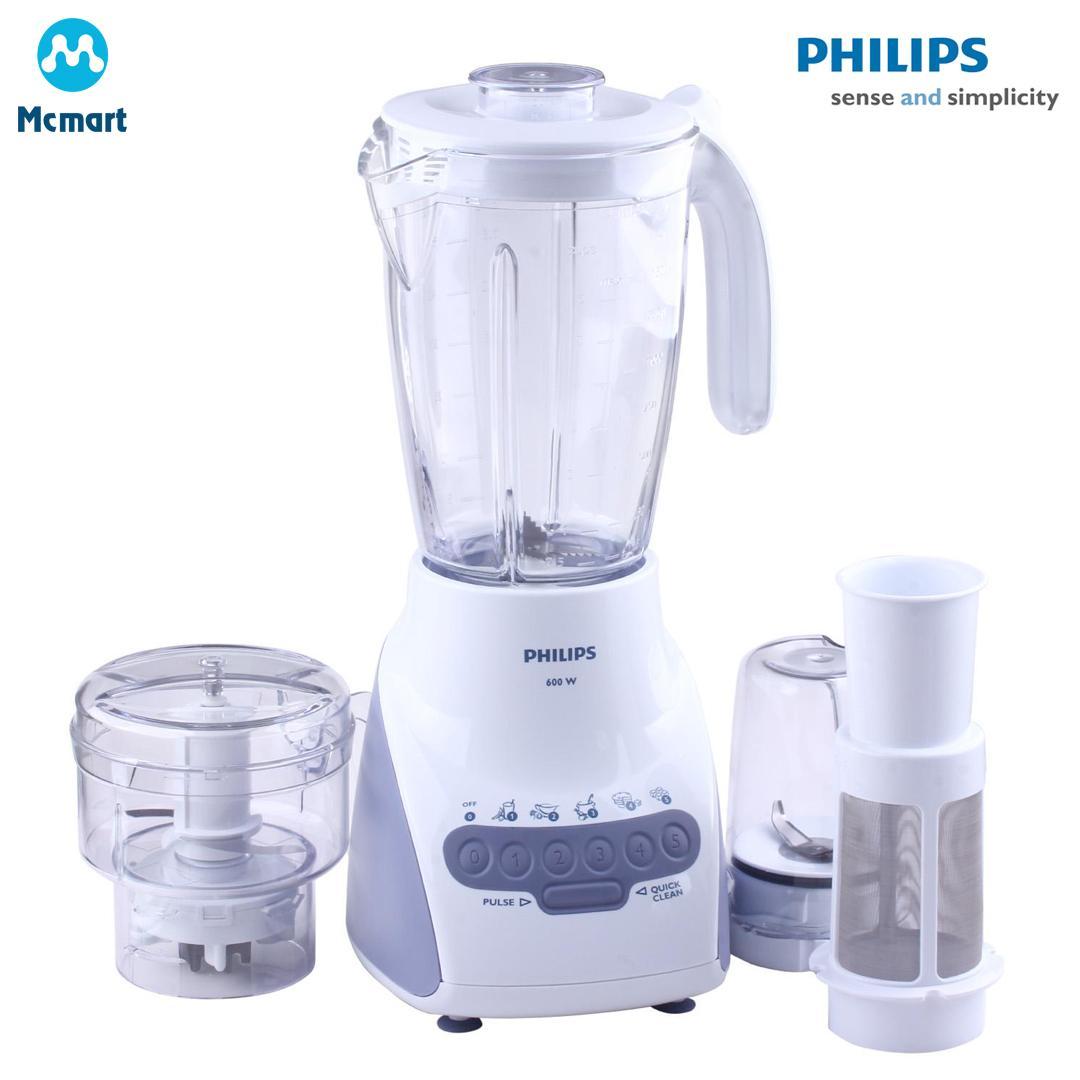 Hình ảnh Máy xay sinh tố Philips HR2118 2.0L (Trắng) - Hàng nhập khẩu - Hàng nhập khẩu