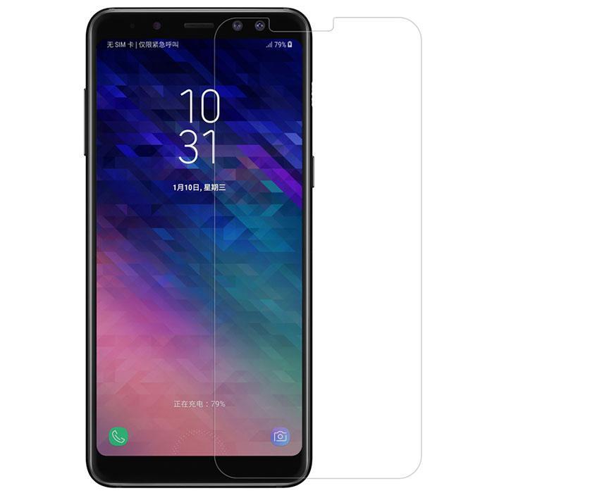 Kính cường lực cho Samsung Galaxy A8 2018  2D