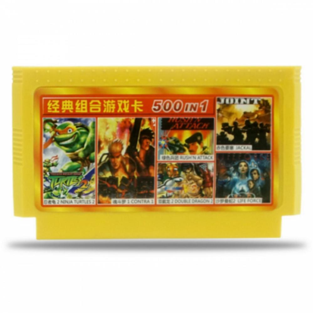 Băng Game nhựa 8 bit 500 in 1 trò chơi không lập lại