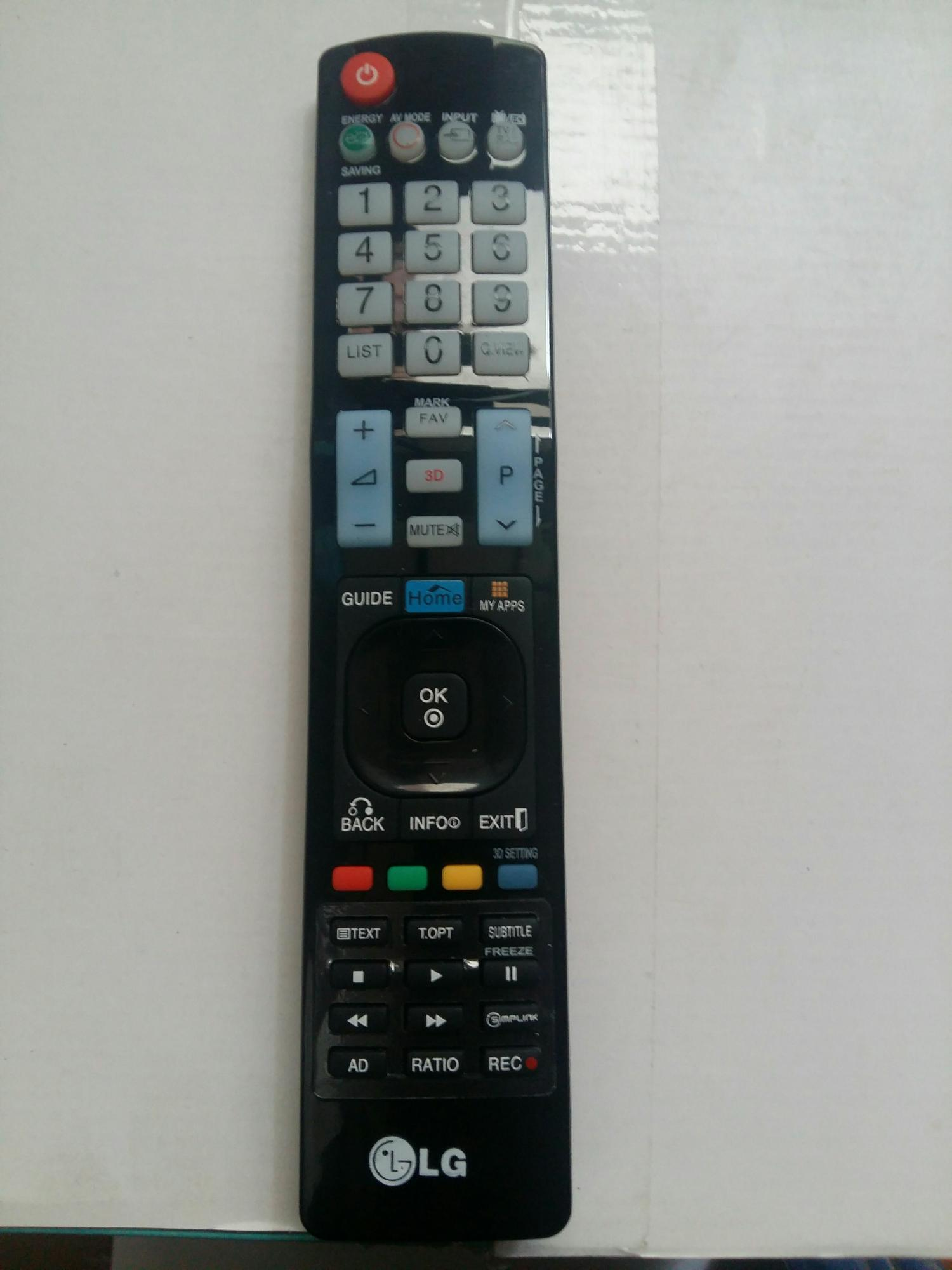 Hình ảnh ĐIỀU KHIỂN TV LG LCD/LED