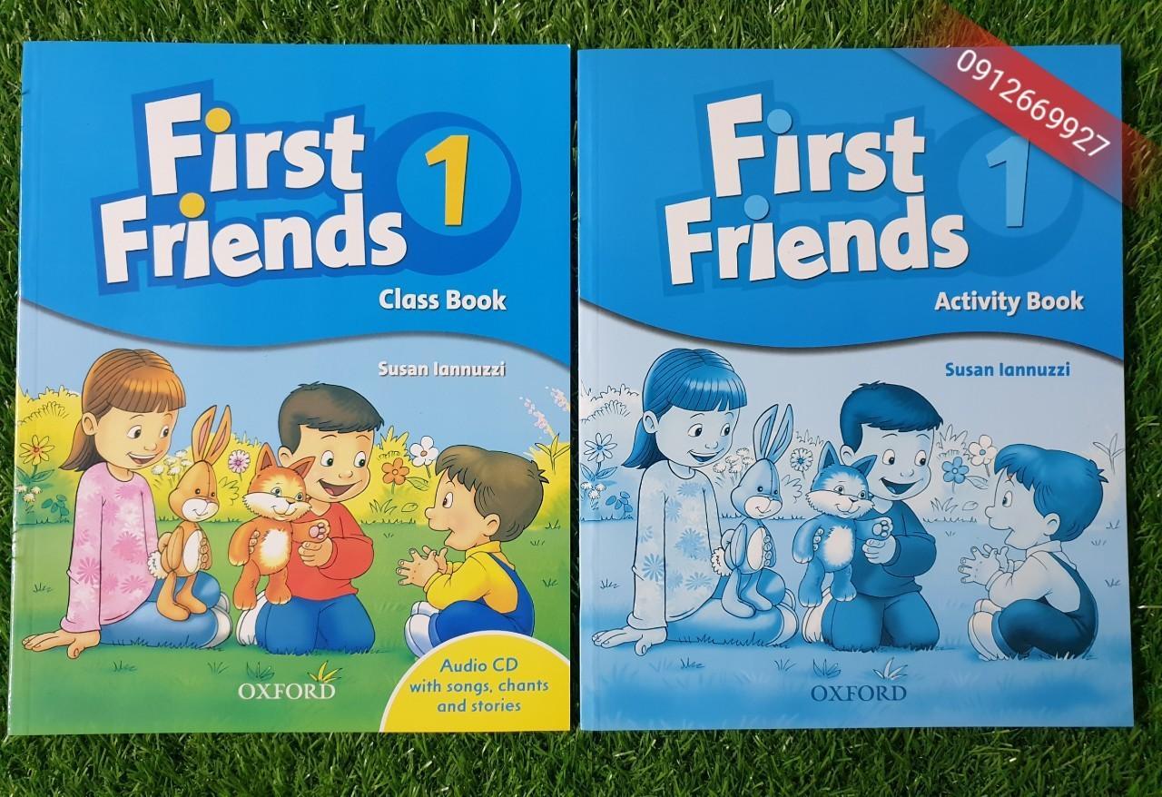 Mua Sách First Friend 1 (class book và activity book)