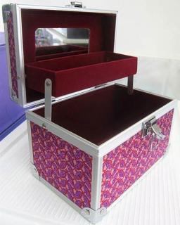 Hộp đựng mỹ phẩm dụng cụ trang điểm làm đẹp cá nhân cỡ nhỏ (19x13.5x12.5cm) KL332 thumbnail