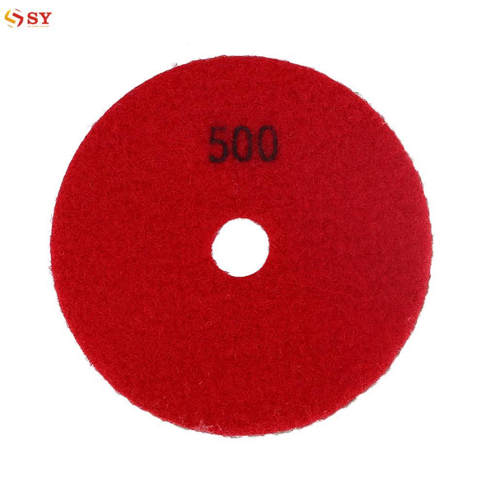 So Young Marble Polishing Pads For Granite Concrete Stone Buffing Burnishing Tool - intl