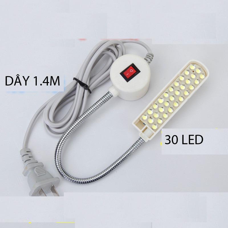 Hình ảnh Đèn LED 30 bóng đế nam châm cho máy may
