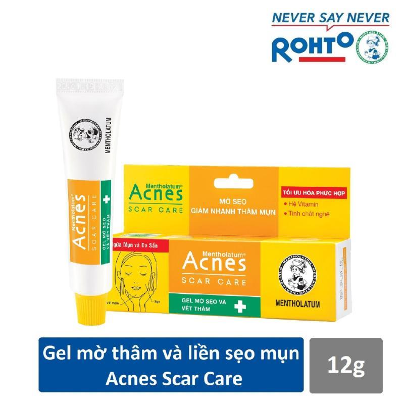 Gel mờ vết thâm và liền sẹo Acnes Scar Care 12g giá rẻ