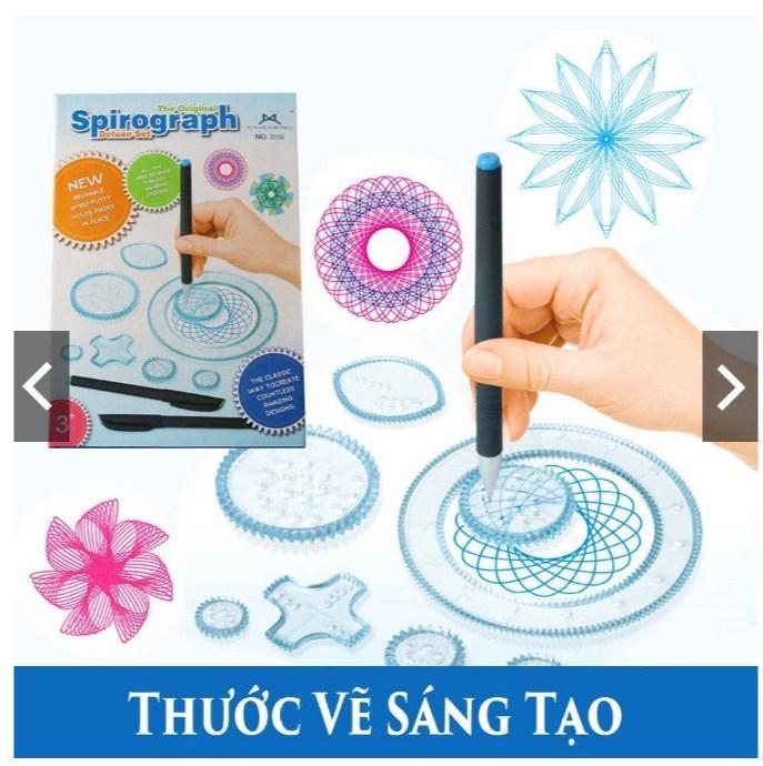 Mua Combo 3 Sản phẩm bút thước tập vẽ cho bé phát triển óc sáng tạo