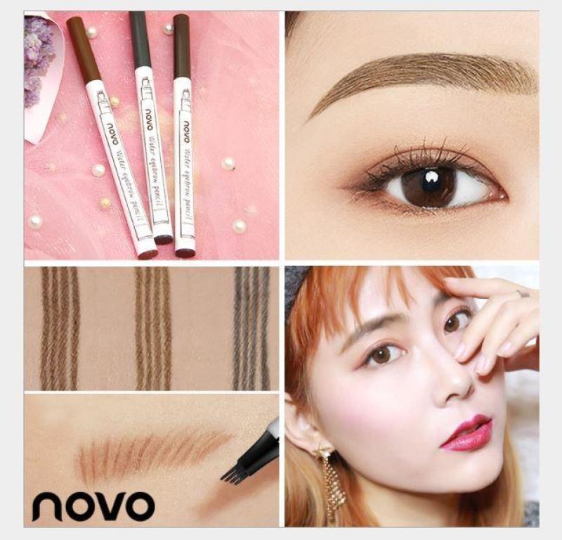 Bút Kẻ Phẩy Sợi Điêu Khắc Chân Mày Novo5248 hot trend 2018( 3 màu lựa chọn) nhập khẩu