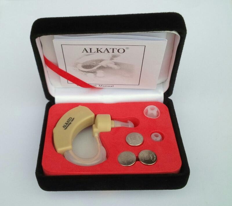 Hình ảnh Máy trợ thính không dây BTE ALKATO Hearing Aid- Công nghệ Nhât Bản