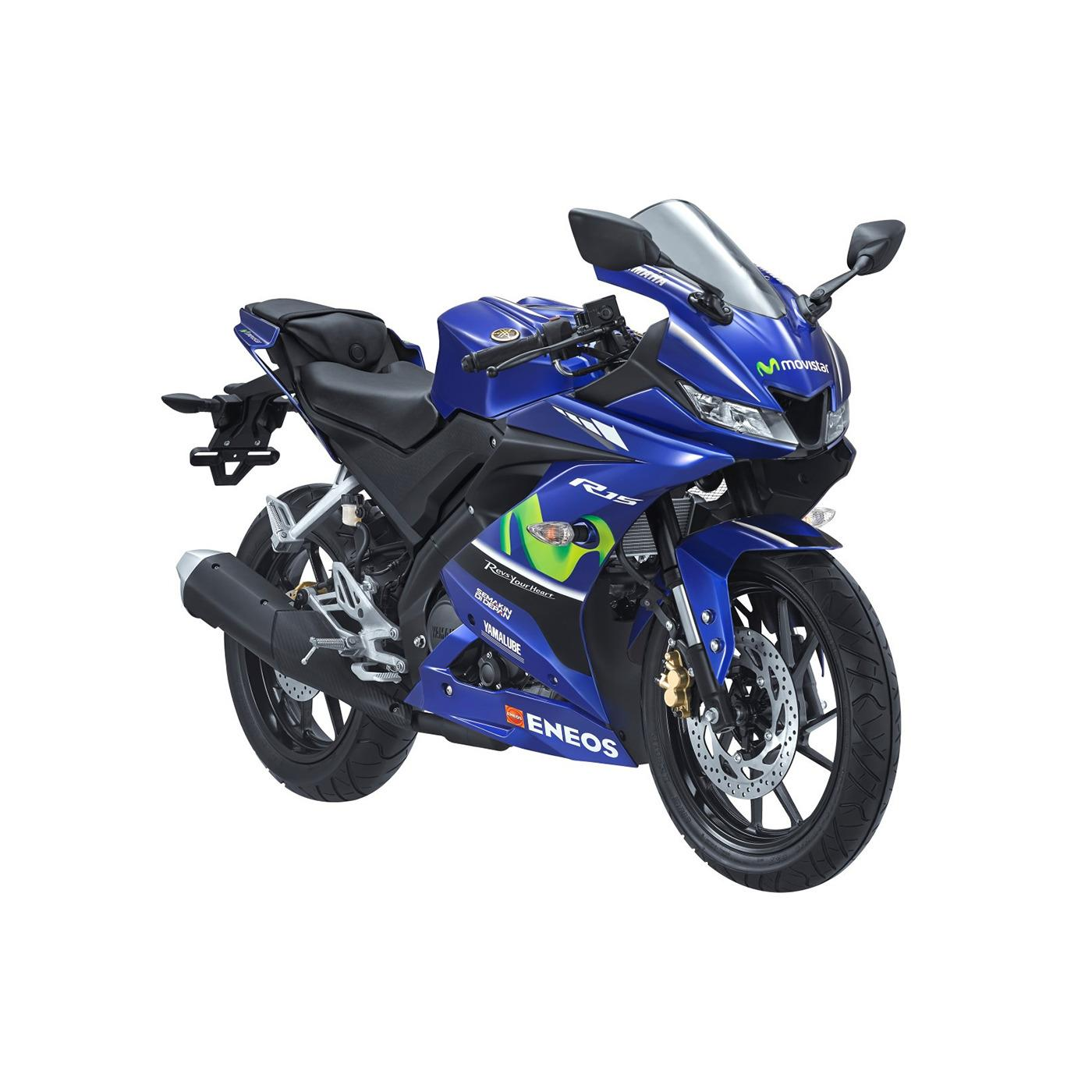 Xe tay côn Yamaha R15 - Xanh Movistar ( nhập khẩu )