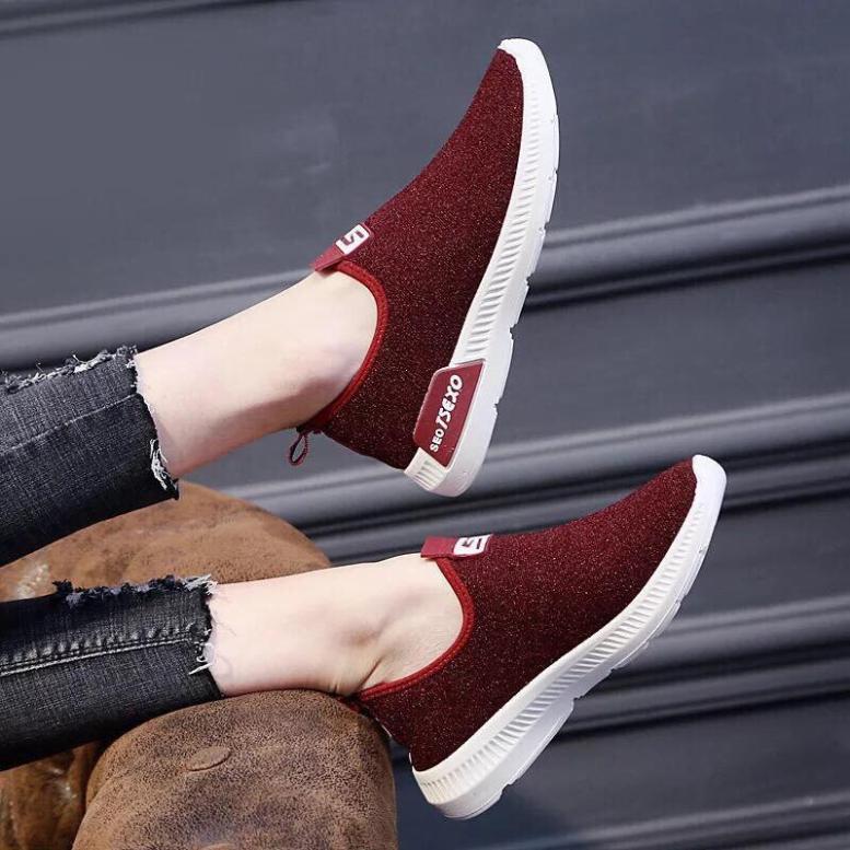 Giày chạy bộ chữ S êm chân siêu hot giá rẻ