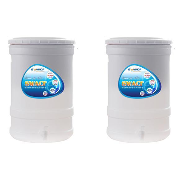 2 Bộ x Bình lọc nước uống Swacf công nghệ Mỹ do Unicef tài trợ