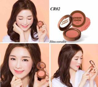 Má hồng dạng kem A pieu Cheek Chok màu CR02 cam đất thumbnail