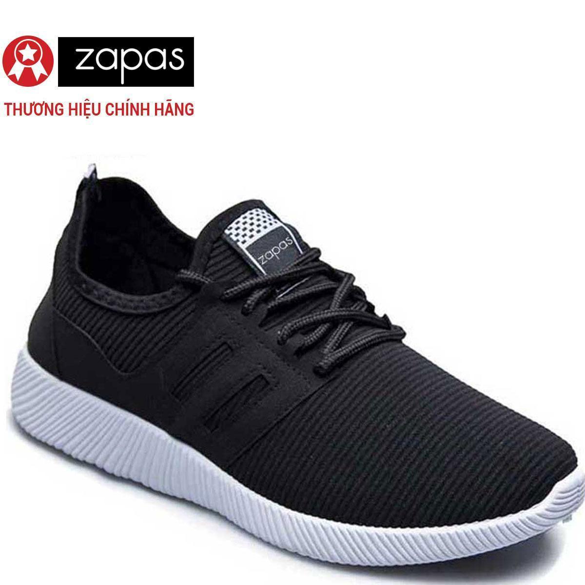 Hình ảnh Giày Sneaker Thời Trang Nam Zapas - GS068 (Đen)