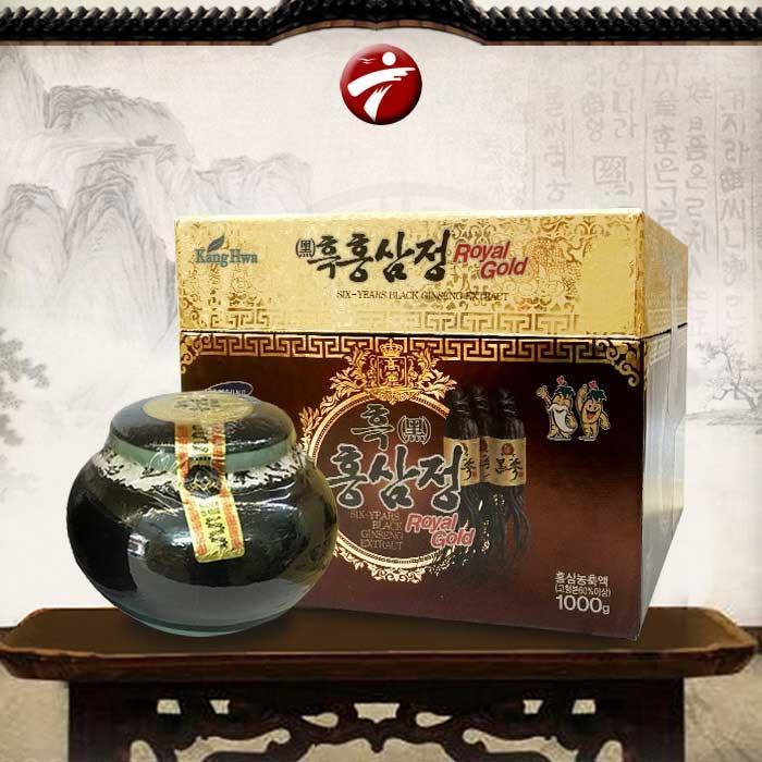 Cao Hắc Sâm Hàn Quốc Gold hũ sứ 1kg( Mẫu mới 2018)