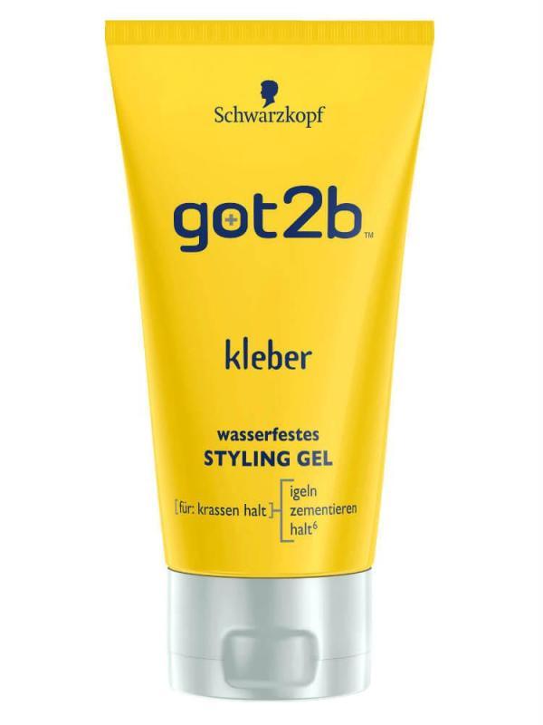 Gel vuốt tóc Got2b Styling Gel Kleber Wasserfest  150 ml - Đức giá rẻ