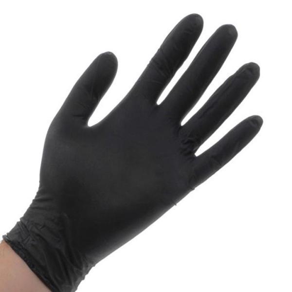 Găng tay y tế màu đen nhập khẩu Thái Lan