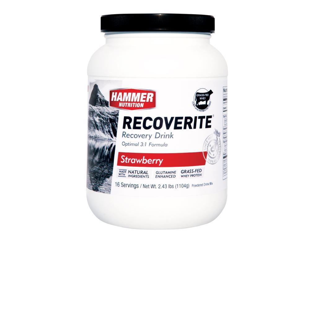 Thức uống phục hồi cơ bắp- Hammer Nutrition Recoverite vị Dâu  Hộp 16 lần dùng