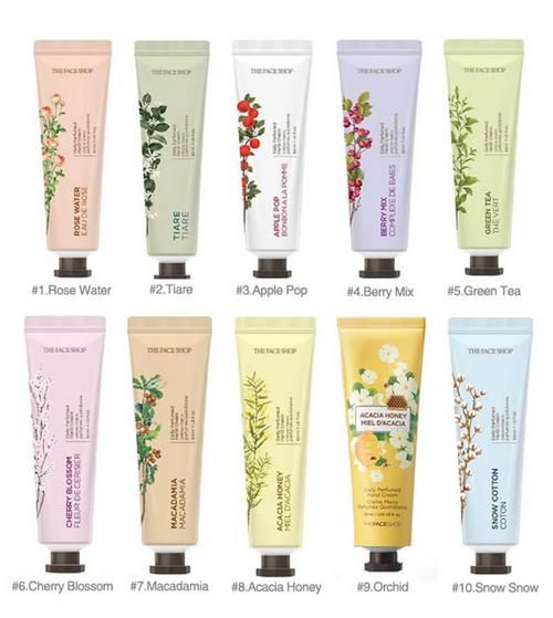 Kem Dưỡng Da Tay The Face Shop Daily Perfumed Hand Cream 30ml