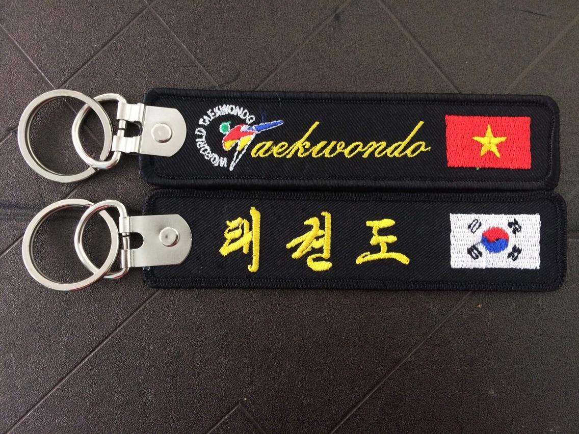 Mã Giảm Giá Móc Khoá Thêu Taekwondo