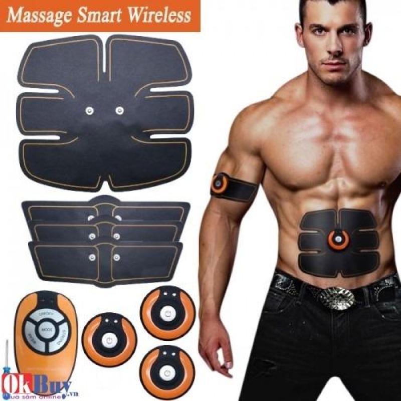 Máy massage xung điện tạo cơ 6 múi Smart Wireless Mobile GYM