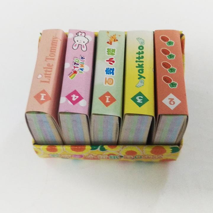 Mua Hộp 5 tập giấy xếp hạc 4 x 4 Cm (gần 600 tờ), giấy gấp hạc, giấy gấp sao