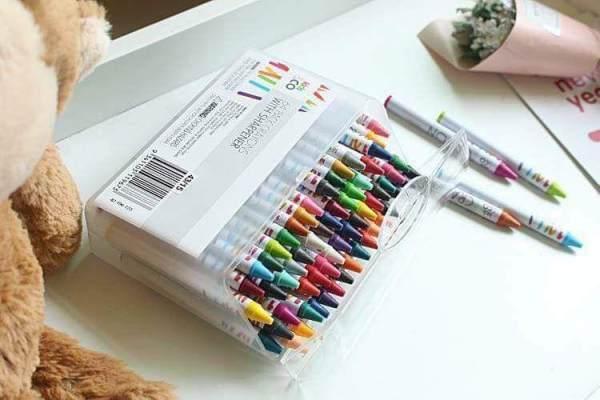 Mua Hộp sáp 64 màu - Hộp sáp 64 màu cho bé thỏa sức tô vẽ sáng tạo