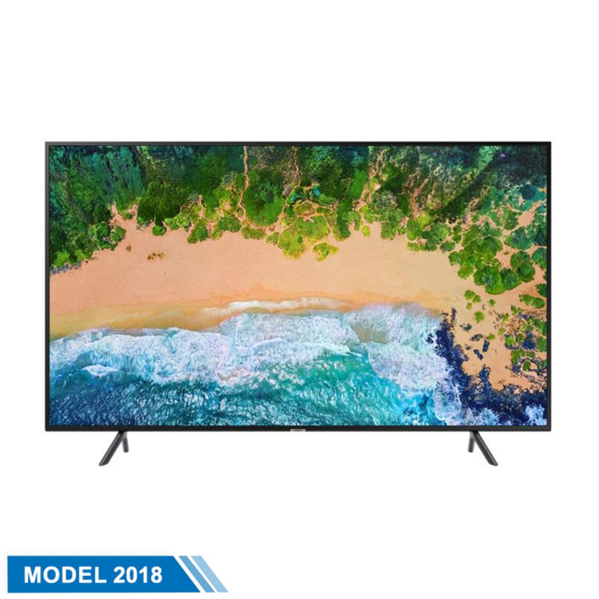 Hình ảnh Smart TV Samsung 43inch 4K Ultra HD - Model UA43NU7100KXXV (Đen) - Hãng phân phối chính thức