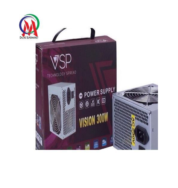 Nguồn VSP X300W fan 12cm sata -CÔNG SUẤT THỰC