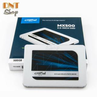 Ổ cứng SSD Crucial MX500 3D NAND SATA III 2.5 inch 500GB (CT500MX500SSD1) thumbnail
