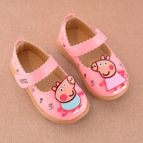 Hình ảnh Giày búp bê cho bé gái hình chú heo Peppa Pig - 04BB076
